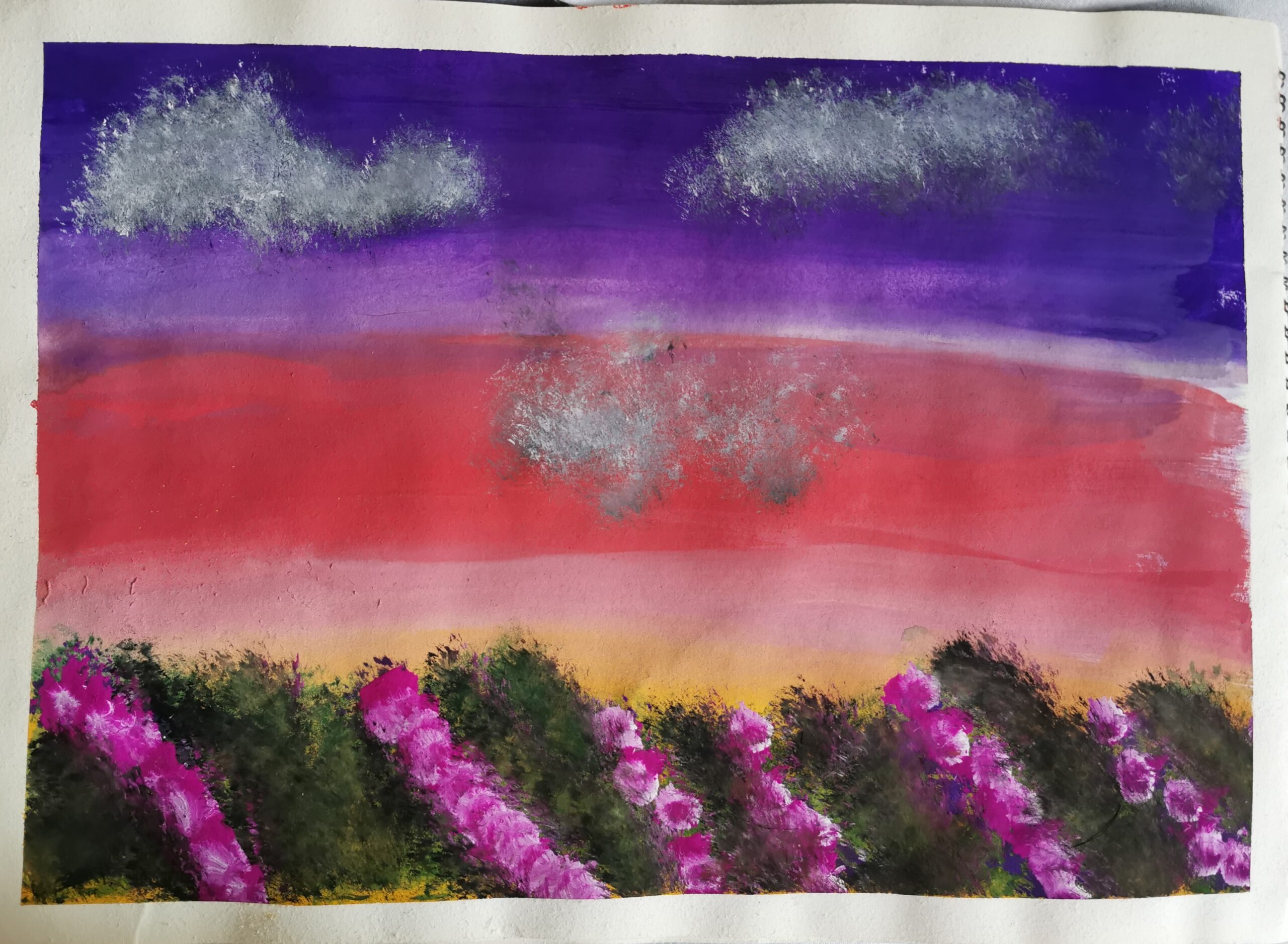 Twilight Blooms at Miracle Gardenby Kyler Dias