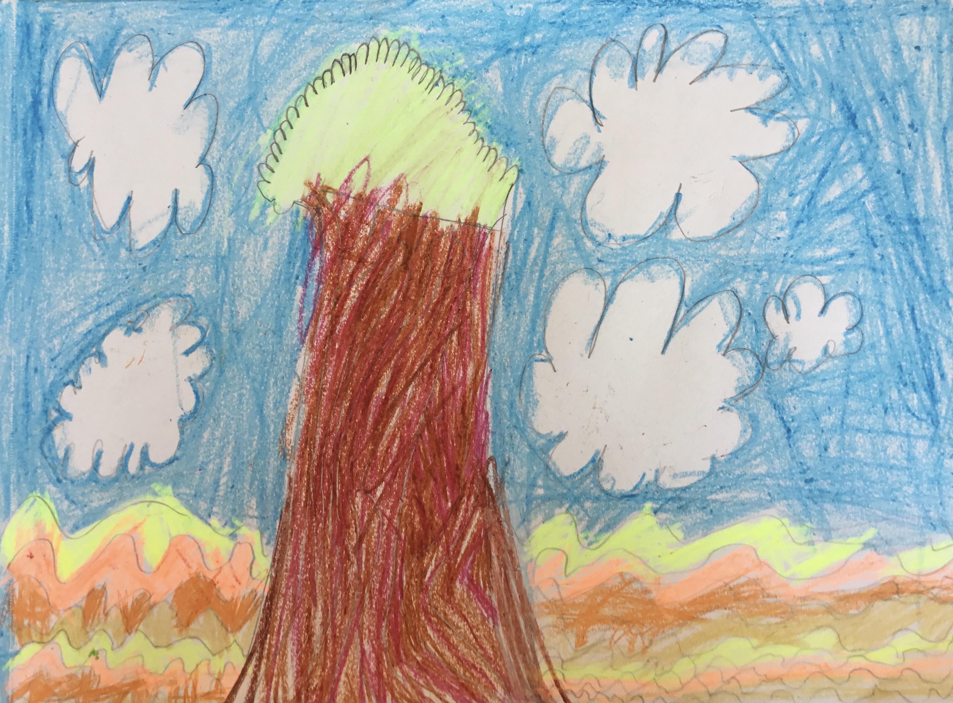 Tree Pose in Ras Al Khaimah by Ava Ashrat Bharucha