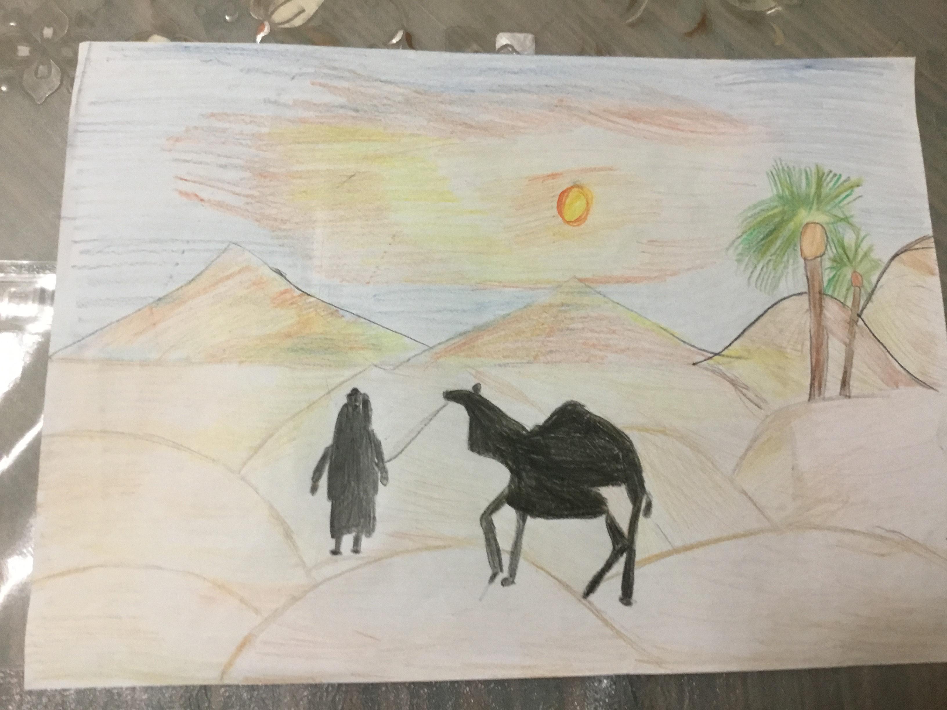 UAE Desert by Vivan Kewalani