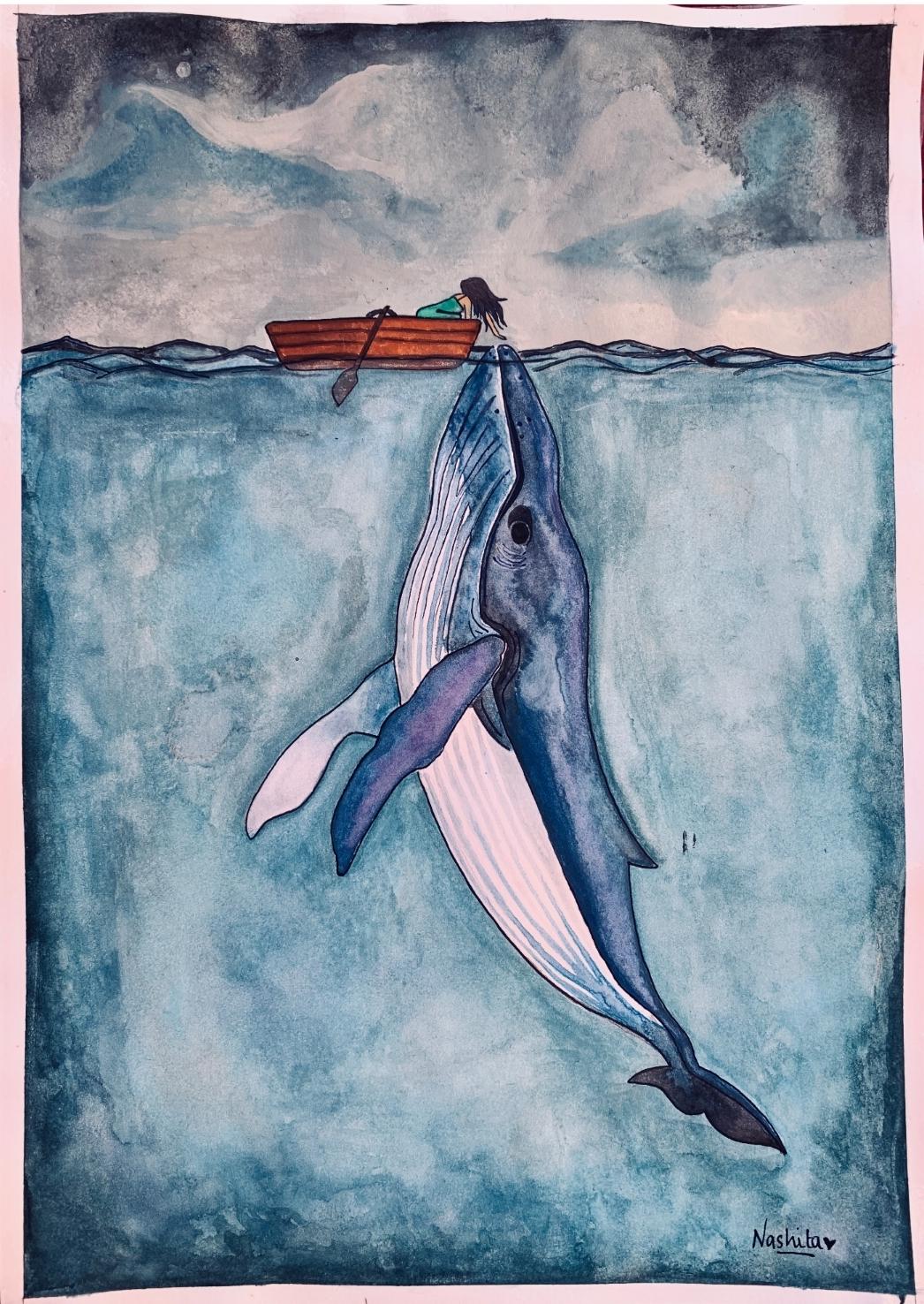 The Mighty Oceans by Nashita Tarub