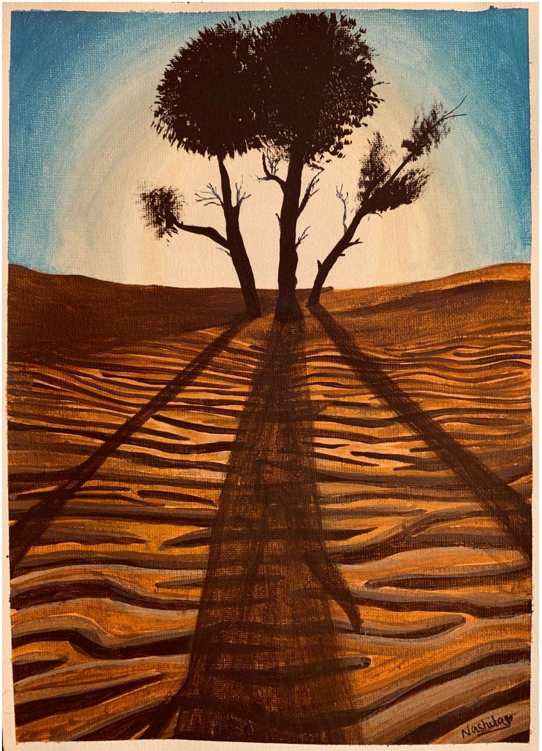 The Majestic Desert by Nashita Tarub