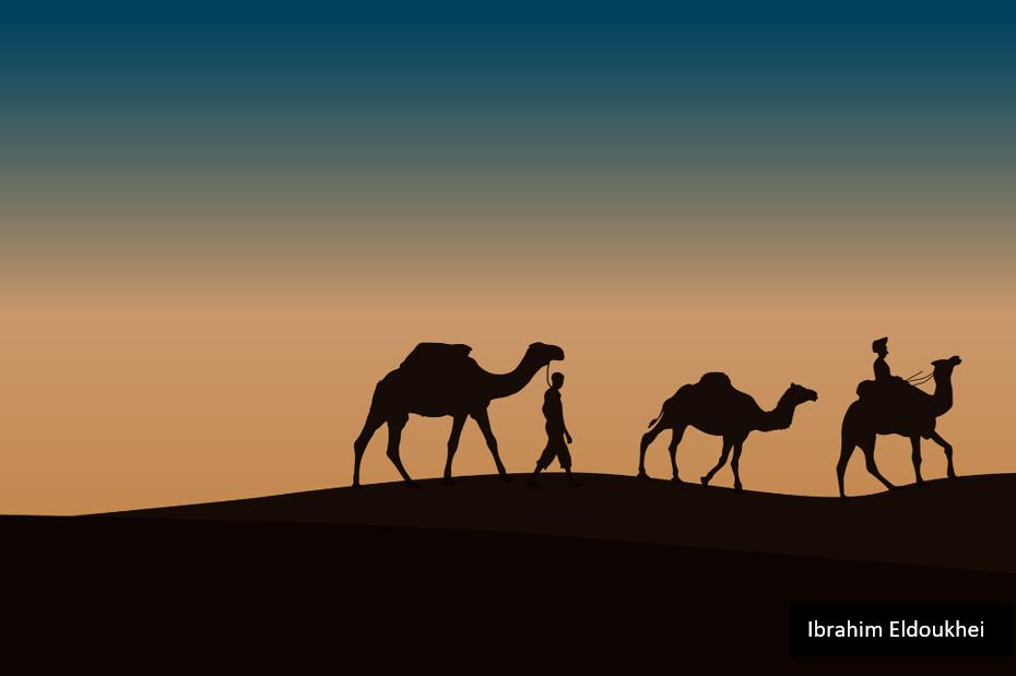 Nature in the UAE by Ibrahim Eldoukhei