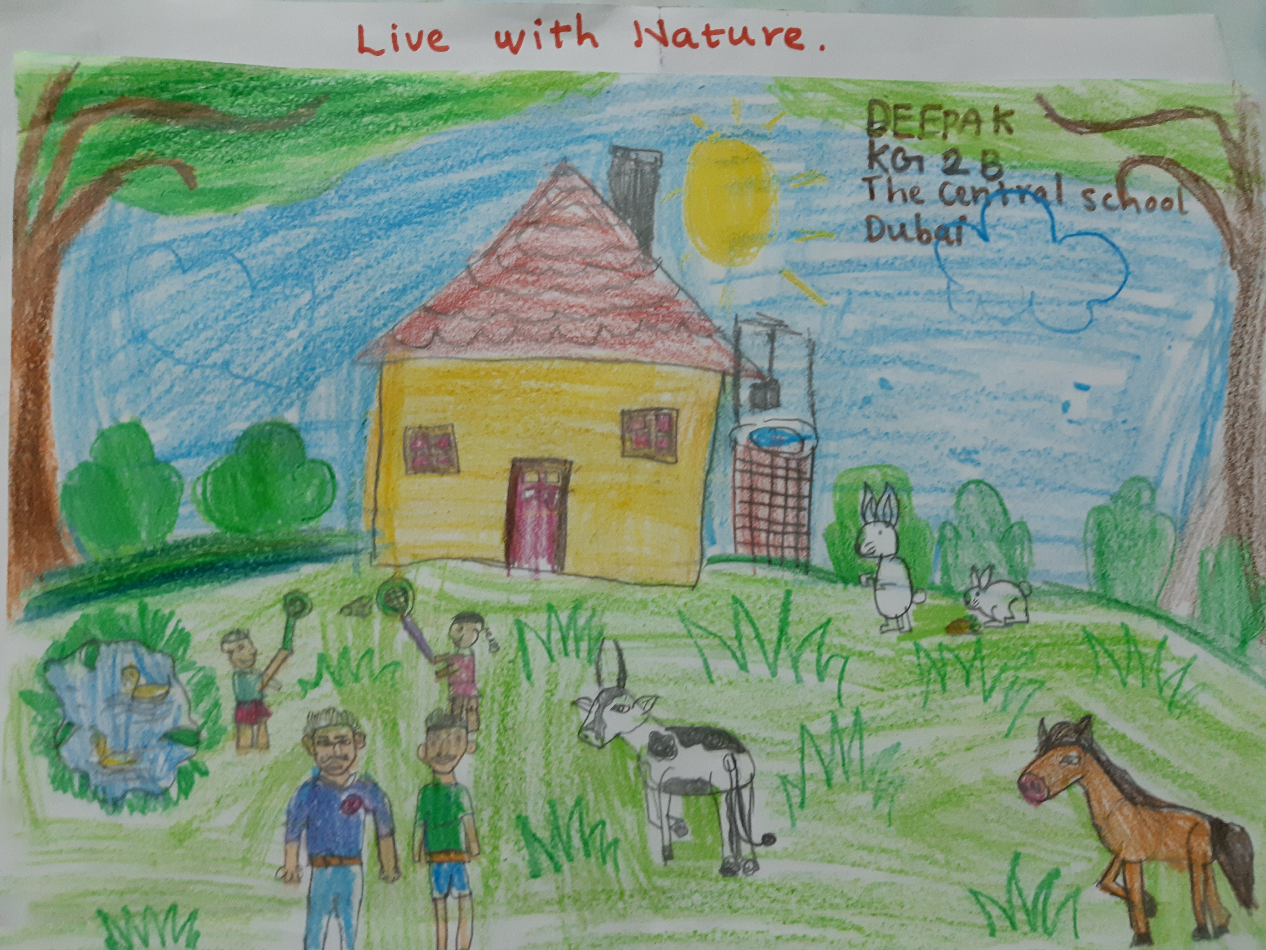 Live with nature by Deepak.S