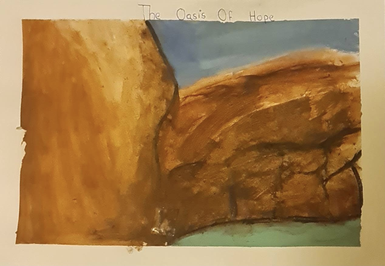 Oasis Of HOPE by Joanna Anish