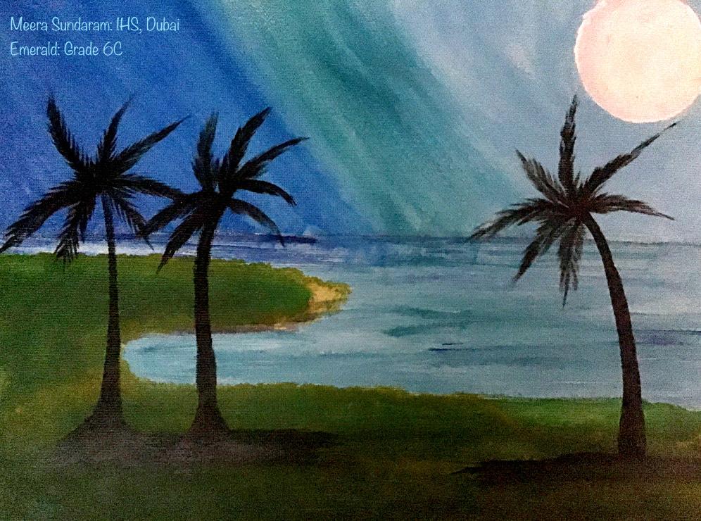 UAE Art in Nature by Meera Kamatchi Sundaram