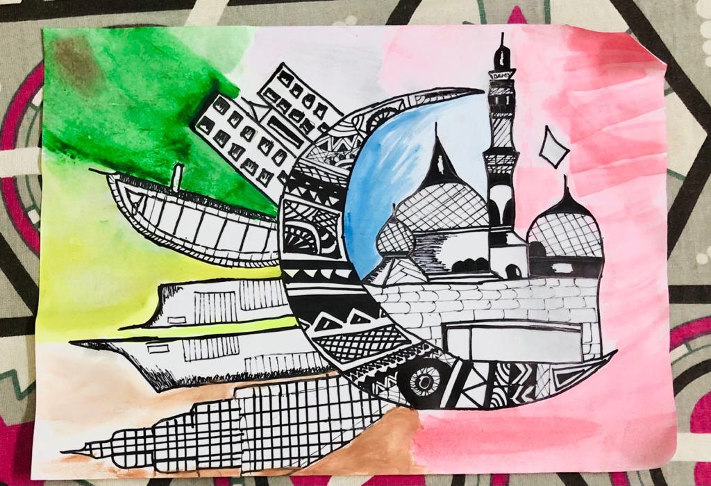 UAE Buildings by Samiksha Singh