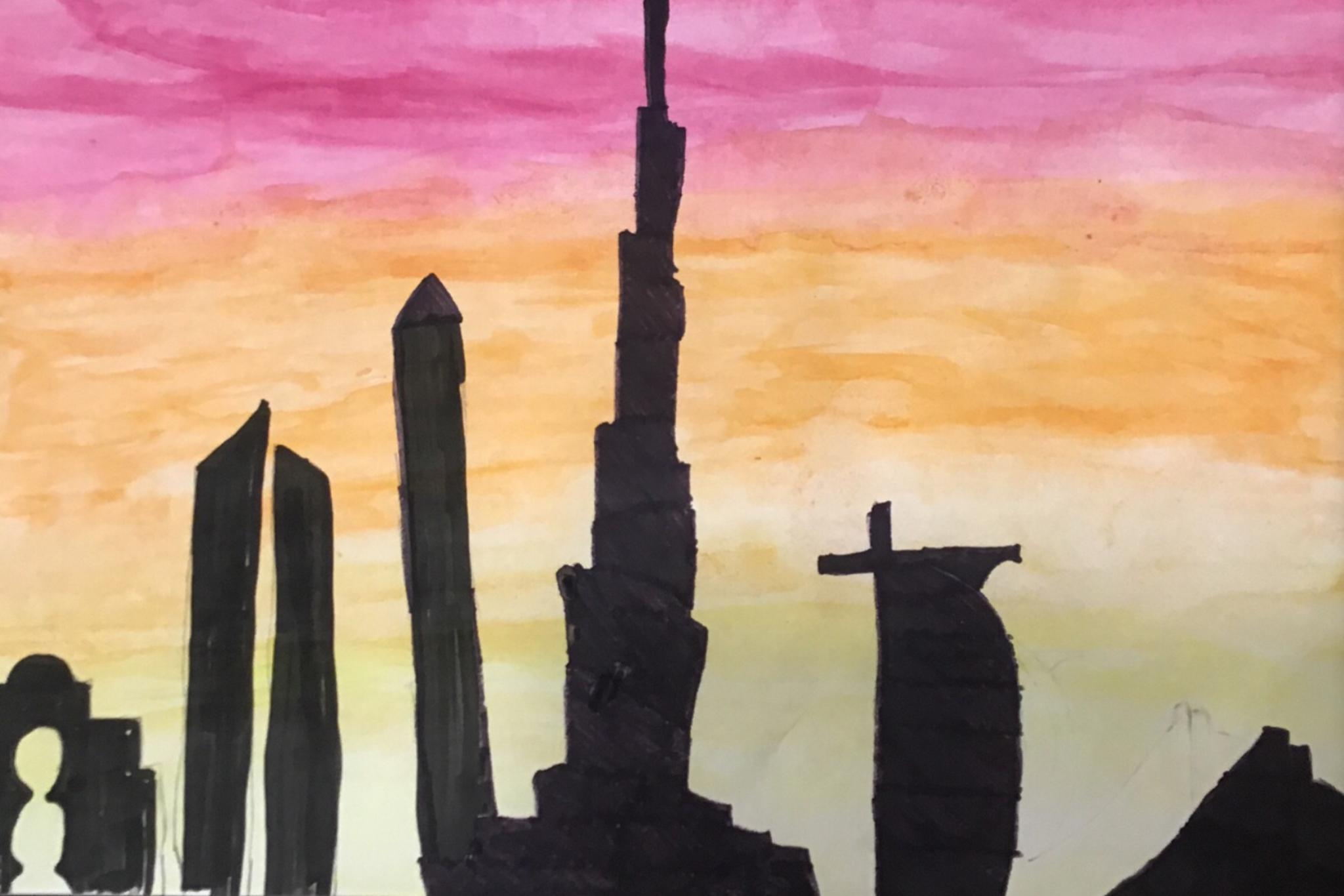 Dubai at Sunrise by Jordanna Joseph