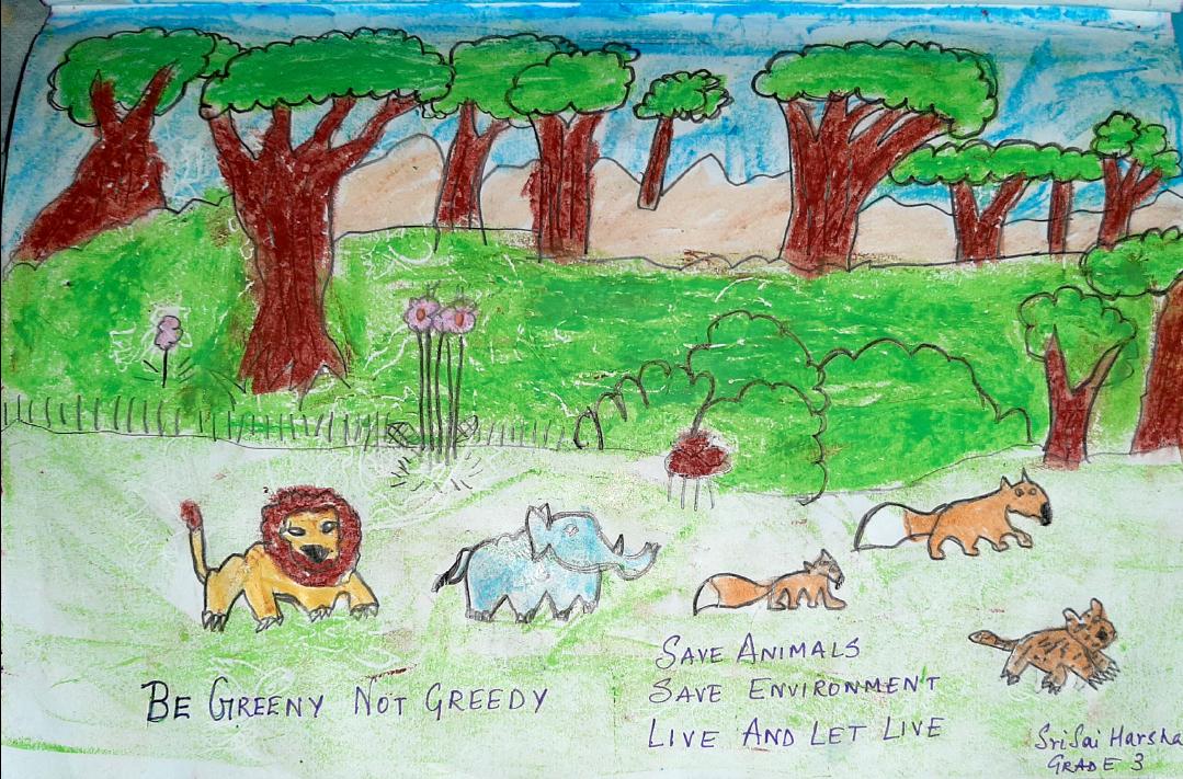 Be Greeny, Not Greedy by Sri Sai Harsha