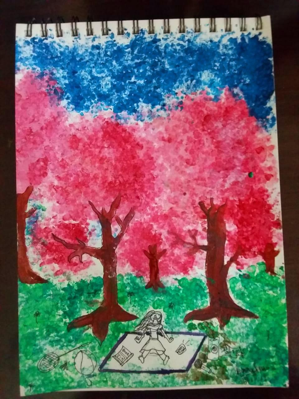 Artwork by Amraha Mohammad Tariq