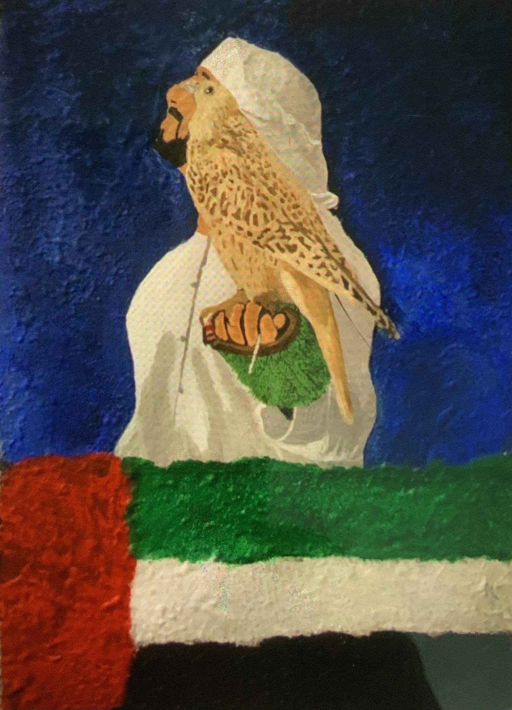 UAE art in nature by Syeda Fatima Naqvi